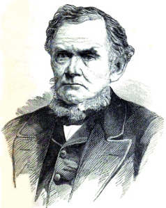 Daniel Drew in 1872.
